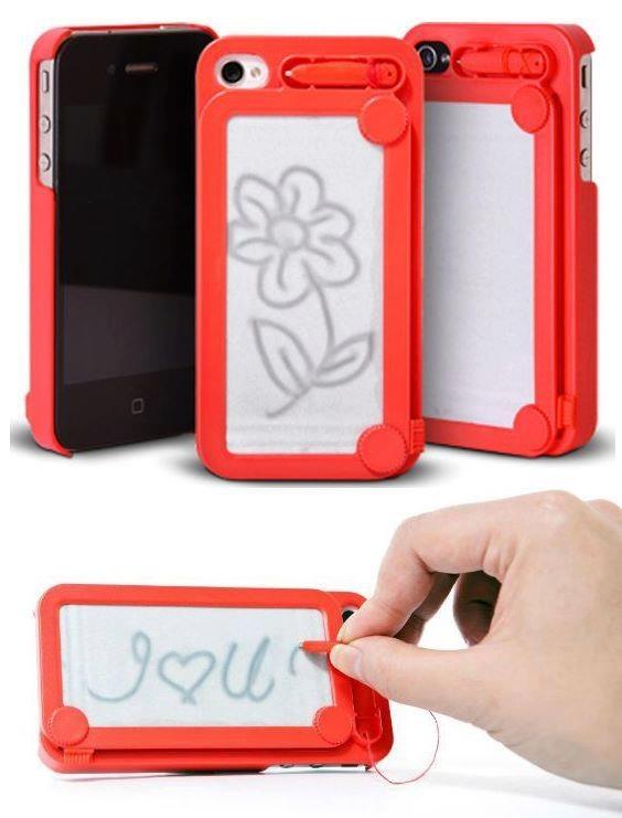 Escribe y dibuja en la funda de tu iPhone